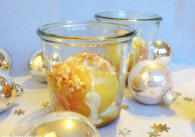Bratapfel im Glas