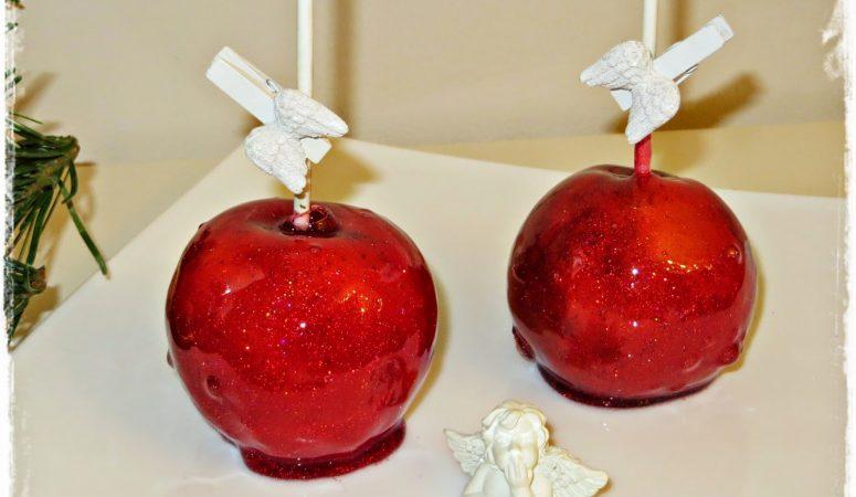 Glitzernde Liebesäpfel