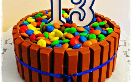KitKat-Smarties-Torte