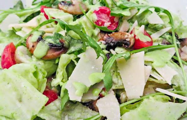 Salat a la Vapiano® mit Rucola Dressing