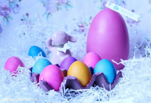 Eier kochen & färben im Thermomix