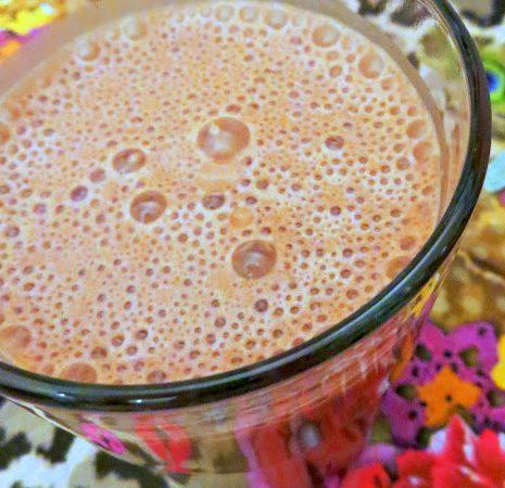 Bananen – Schoko – Eiweiß – Shake ♡