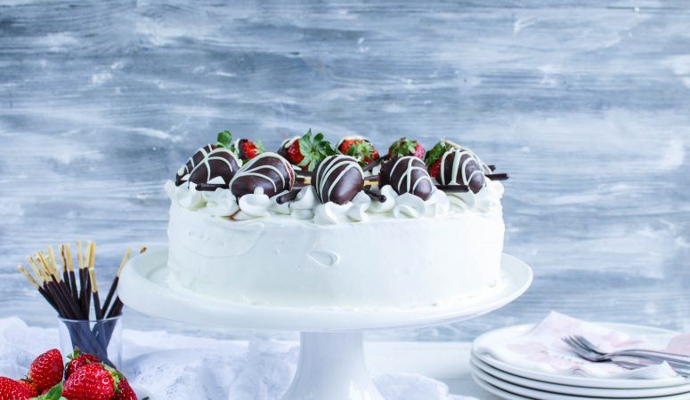 Erdbeer – Mascarpone – Torte