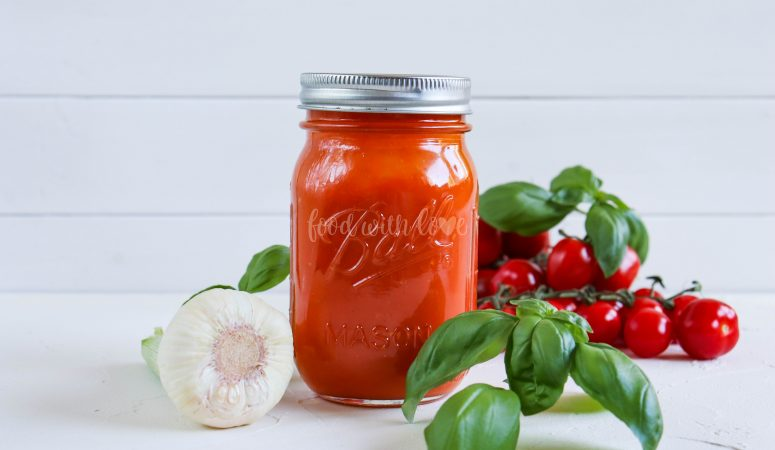 Fruchtige Tomatensauce