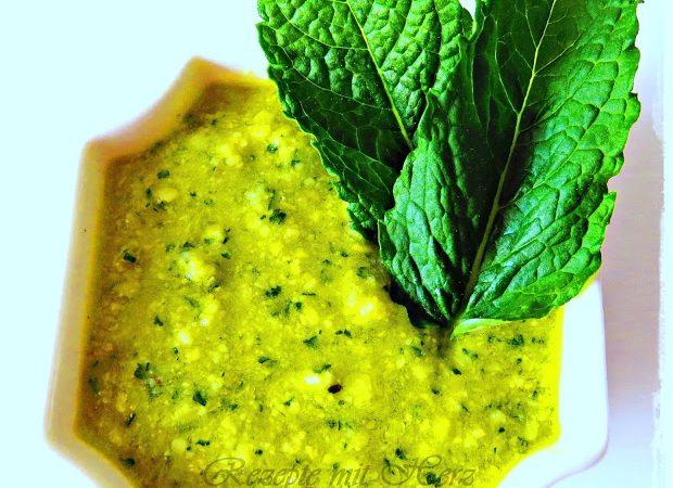 Limetten-Pesto