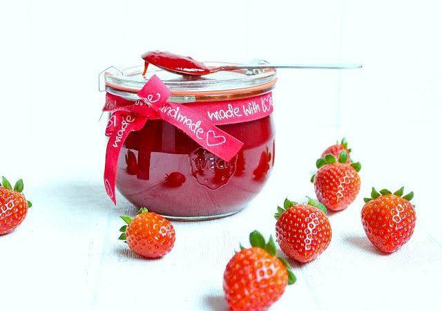 Erdbeer-Samt-Marmelade