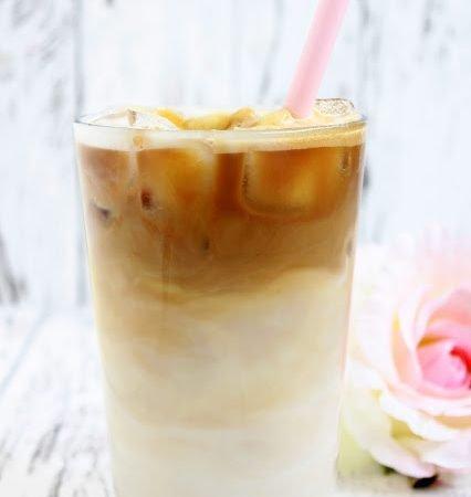 Iced Caramel Macchiato a la Starbucks ♡