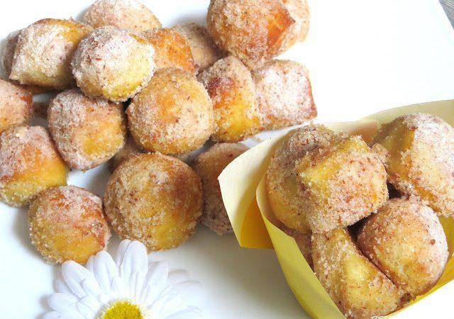 Zimt – Zucker – Bretzelhappen – a la Auntie Anne´s Cinnamon Pretzel Bites  ♡