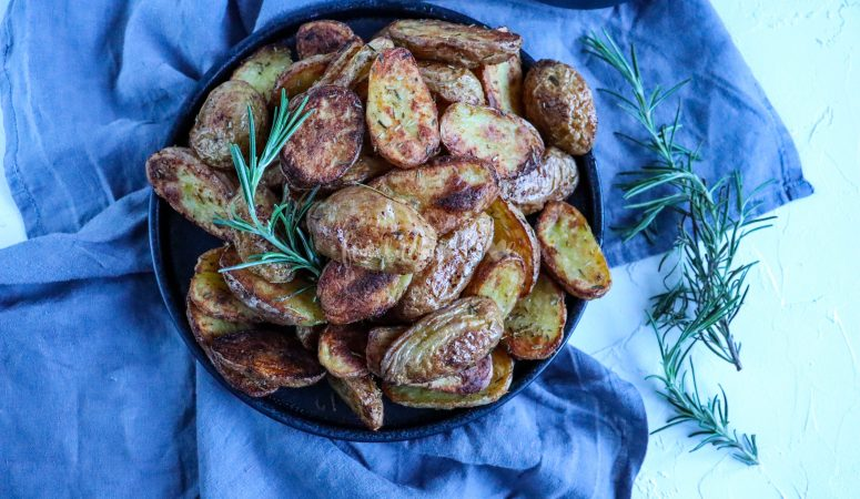 Knusprige Backkartoffeln