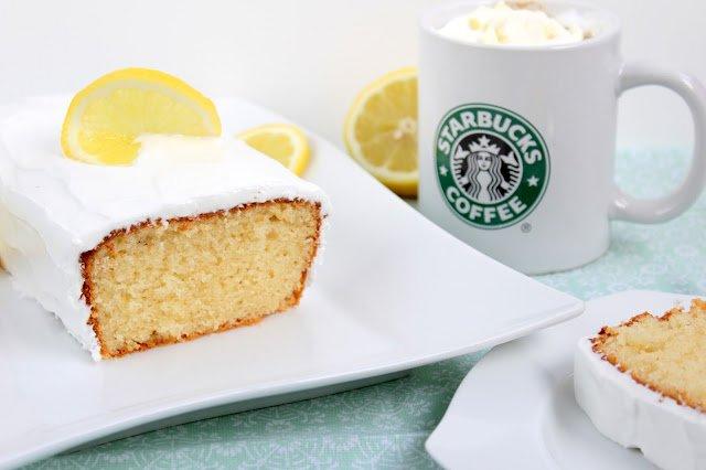 Zitronenkuchen | Lemon Pound Cake a la Starbucks®