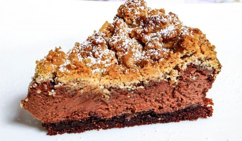 nutella® Cheesecake mit Streuseln