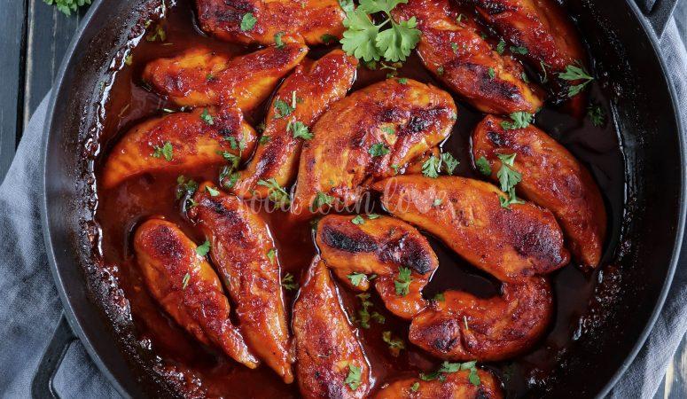 Honey BBQ Chicken | Gebackenes Honig Hähnchenbrustfilet