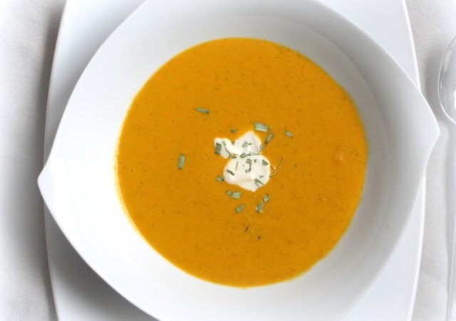 Pomp Duck and Circumstance Suppe ♡ Tomaten-Karotten-Suppe