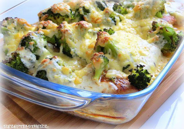 Putenschnitzel überbacken mit Brokkoli ♡