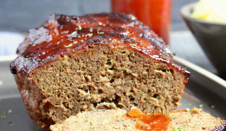 Meatloaf | amerikanischer Hackbraten mit BBQ Sauce
