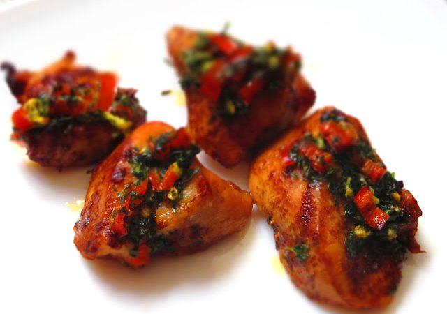 Leckere Marinade für Hähnchenfleisch