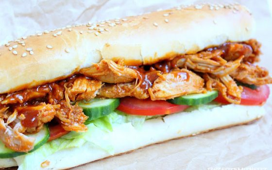 Pulled Chicken Baguette | Subway® Style