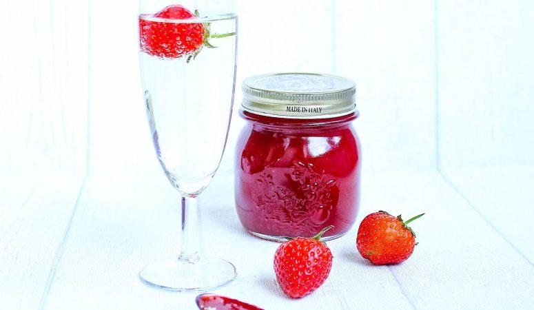 Erdbeer Prosecco Marmelade