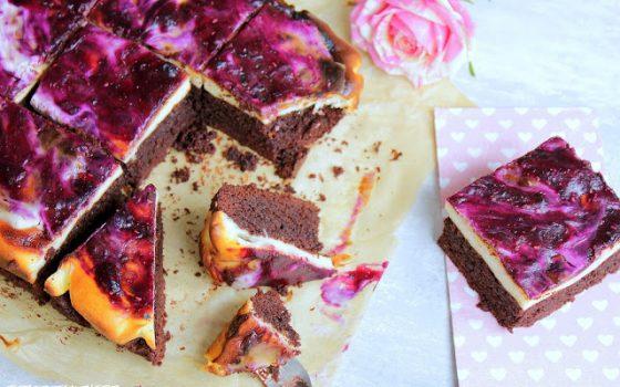 Beeren – Brownie – Cheesecake
