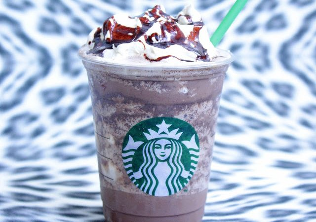 Double Chocolate Chip Crème Frappuccino ♡ Starbucks Copycat