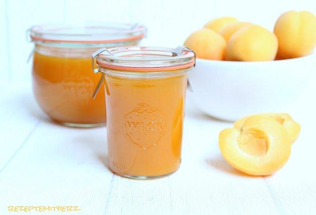 Aprikosen-Marmelade,Thermomix Rezept