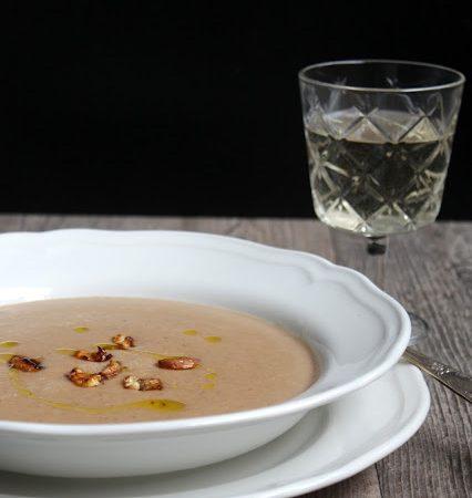 Maronen – Cremesuppe mit karamellisierten Maronen