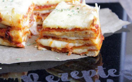 Pizza Cake  ♡ Pizza Torte