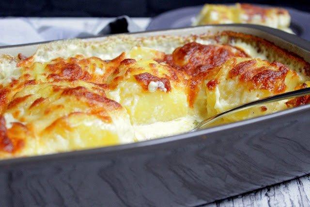 Kartoffelgratin Deluxe