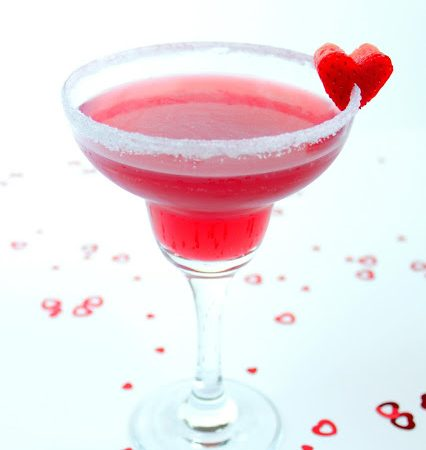 Strawberry Valentine Daiquiri ♡