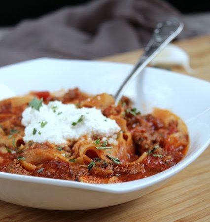 Lasagne Suppe ♡