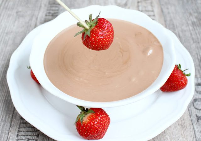Nutella Cheesecake Dip ♡