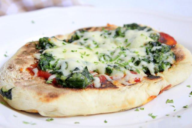 Pizza Lángos oder Langosch ♡ überbacken