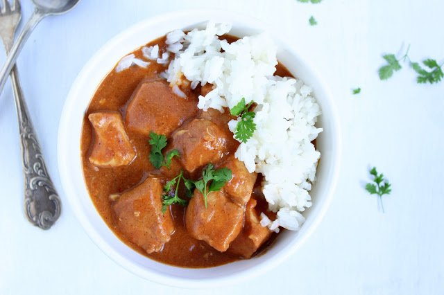 Butter Chicken aus dem Crockpot