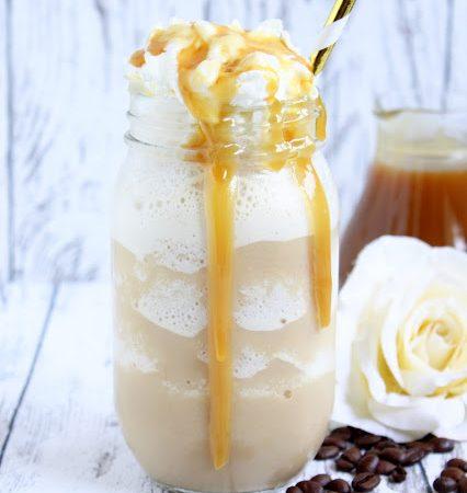 Caramel Frappuccino a la Starbucks