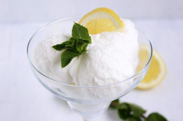 Zitronensorbet ♡ Sorbetto al limone