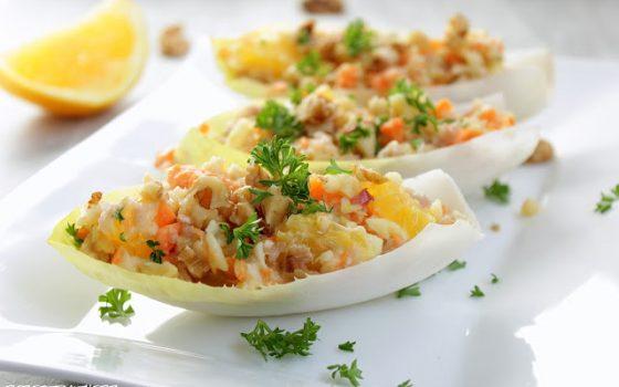 Chicorée – Orangen – Salat