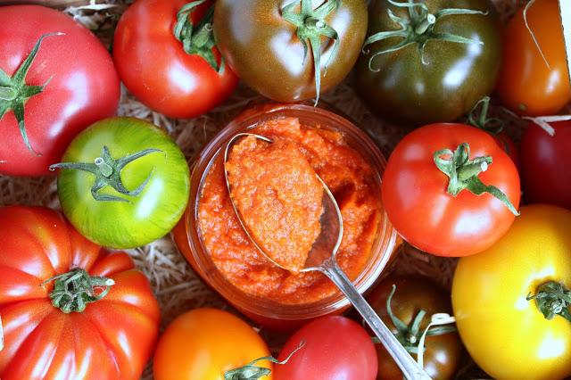 Tomatenmark homemade