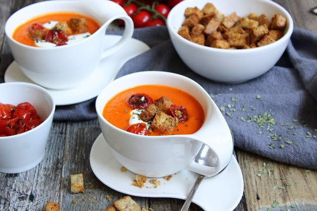 Tomatensuppe ♡ fruchtig & lecker