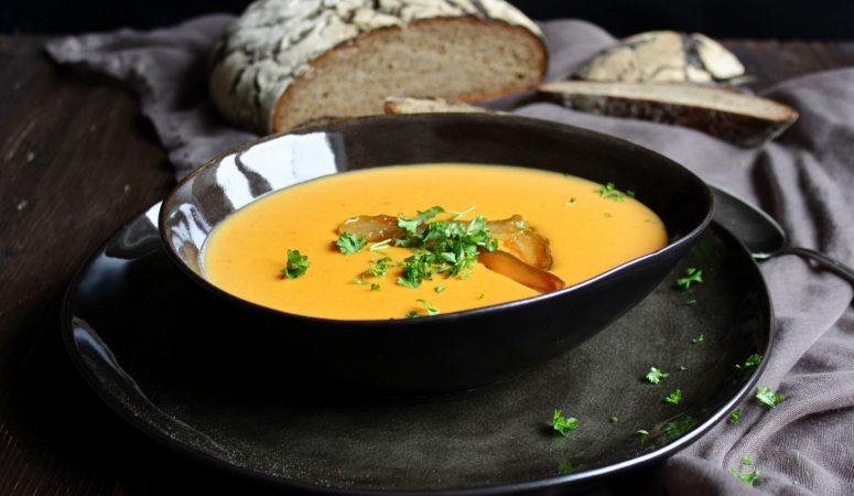 Birnen – Currysuppe