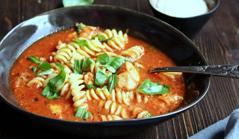 Chicken Parmesan Suppe