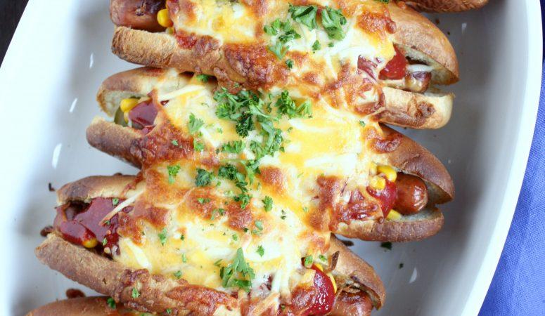 Hot Dog Auflauf