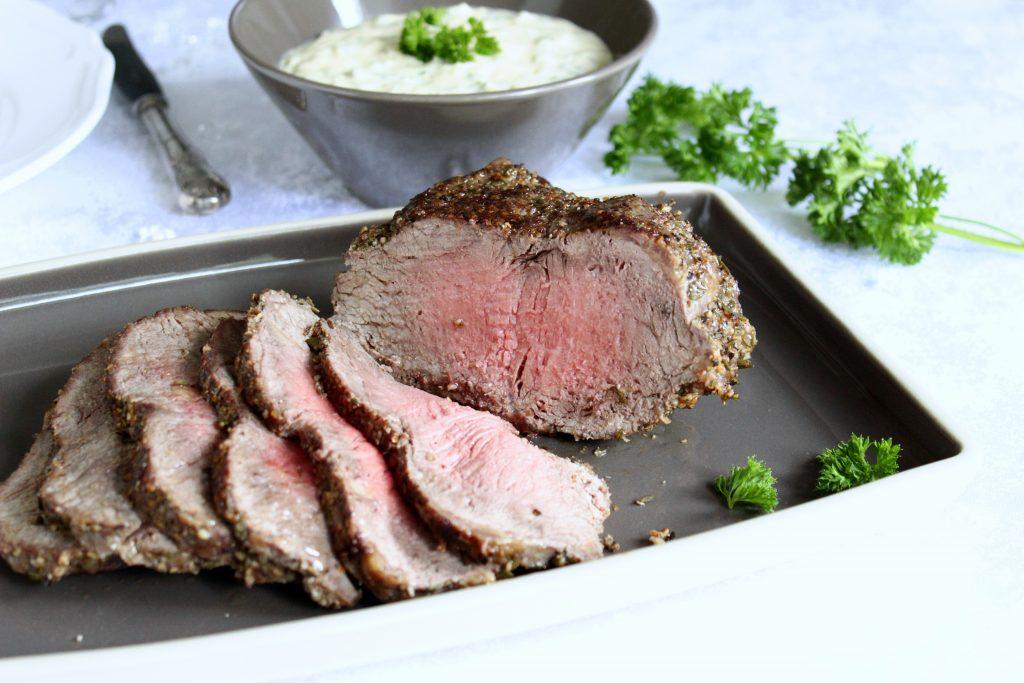 Roastbeef mit Sauce Tartare - Thermomix