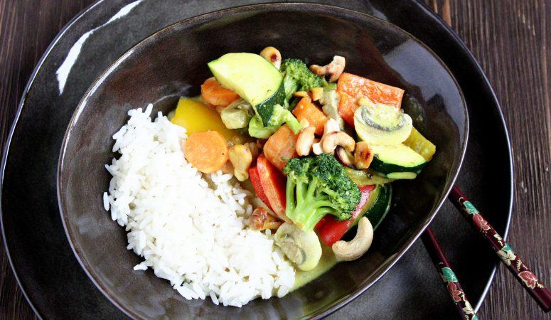 Thai Gemüse – Curry