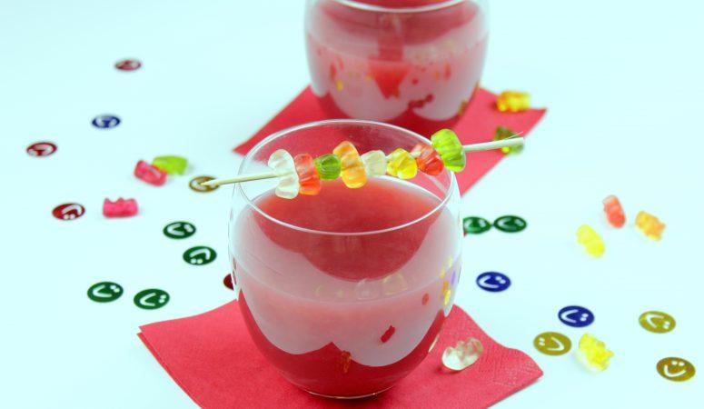 Gummibärchen Bowle für Kinder