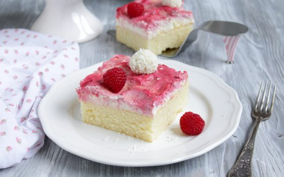Himbeer-Raffaello-Kuchen