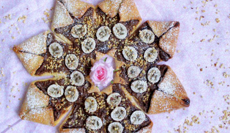 Nutella – Bananen – Stern