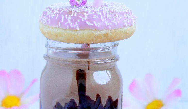 nutella®-Donut-Milchshake