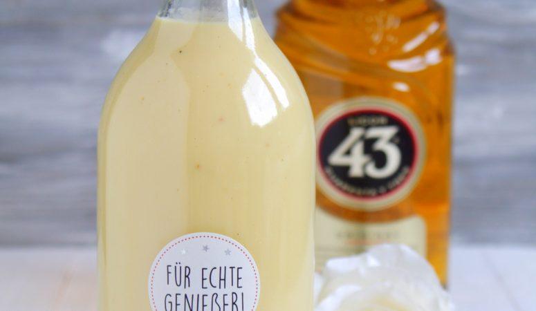 Orangen – Vanille – Eierlikör mit 43 er