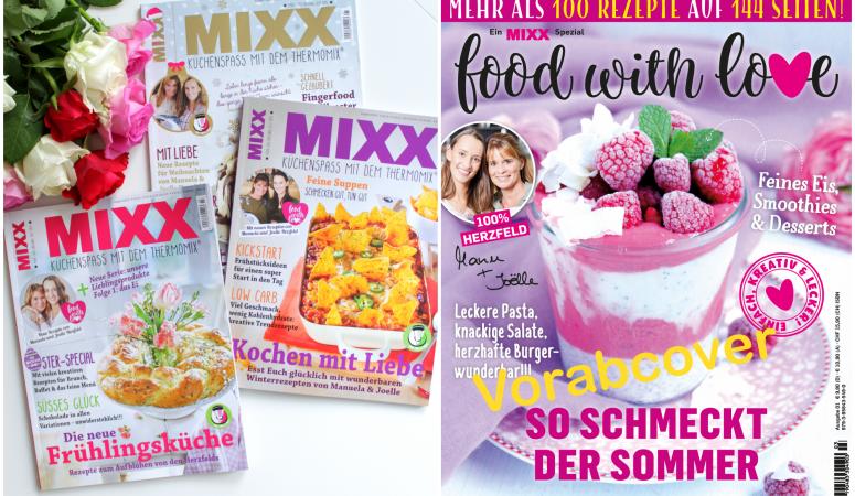 Gewinnspiel – Jahresabo MIXX und Sommer – Spezial – Ausgabe Food with Love