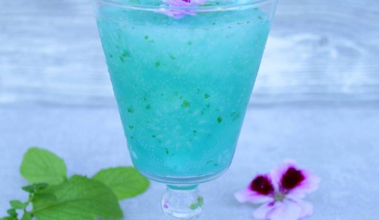 Blue Curacao Mojito Slush